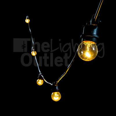 20 Meter Festoon Lighting Filament Globes Included DIY Plug & Play Party Wedding