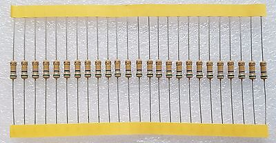 25pcs 560K Ohm 0.5W Carbon Film Resistor 5% Flameproof