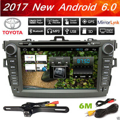 "8"" Android 6.0 DVD Radio GPS stereo for Toyota Corolla 2007 2008 2009 2010 2011"