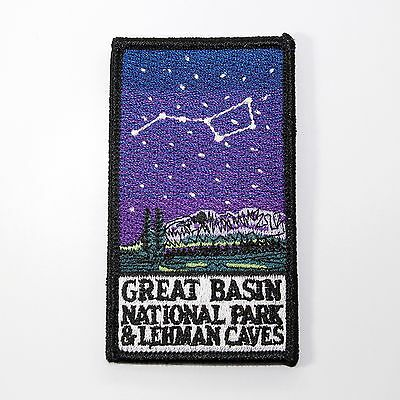 Official Great Basin National Park & Lehman Caves Souvenir Patch - Nevada