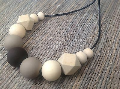 Handmade Polymer Clay Bead Necklace