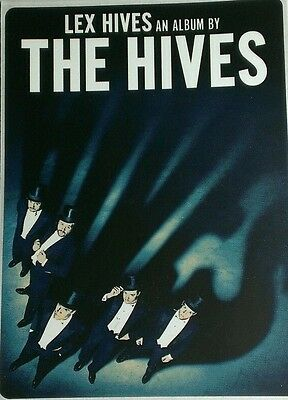 Rare Lex Hive The Hives Promotional Sticker FREE SHIPPING