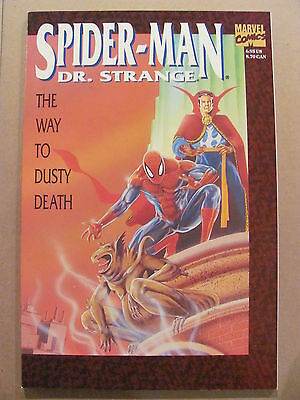 Spider-Man Doctor Strange The Way to Dusty Death 1992 Marvel TPB 9.4 Near Mint