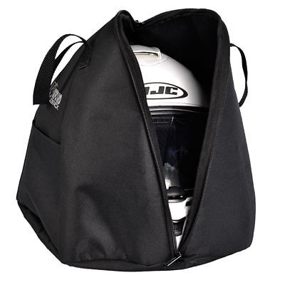 Oxford Lidsack Helmet Bag Motorcycle Motorbike Black Waterproof New