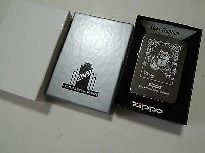 Authentic Zippo Lighter - Windy 1941 Replica 212015 - No Inside Guts Insert