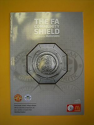 FA Community Shield - Manchester United v Wigan Athletic - 11th August 2013