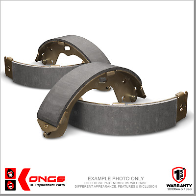 New REAR Brake Shoes for MITSUBISHI TRITON ML 2.5L 3.2L 2006-On (295x50mm)