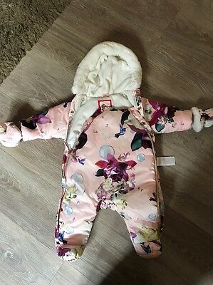 ted baker snowsuit 0-3