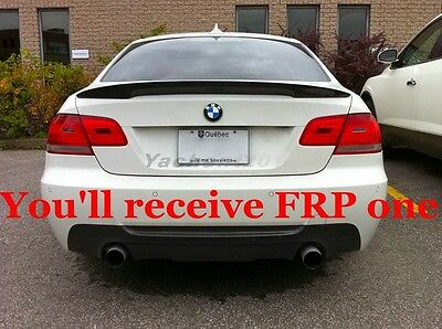 Frp Fiber Glass Rear Wing For 06 11 Bmw E92 E92 M3 Performance Trunk Spoiler