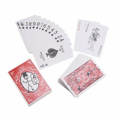1 Set Cartoon Deck Pack Playing Card Toon Magic Trick Animation Prediction