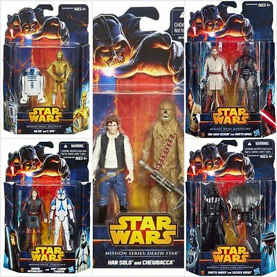 Star Wars Mission Series 2 Pack Figures Assortment