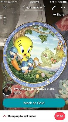Tweety Bird Collectible Plates