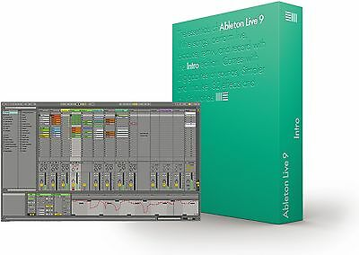 Ableton Live 9 Intro for Windows or macOS — GENUINE Full version