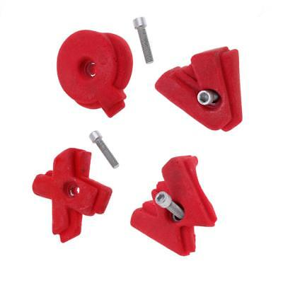 Replacement Spare Large Rock Wall Climbing Holds with Screw Indoor Playground