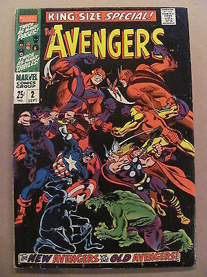 Avengers King Size Special #2 Marvel Comics 1968