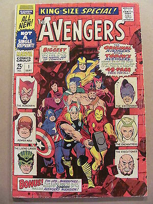 Avengers King Size Special #1 Marvel Comics 1967