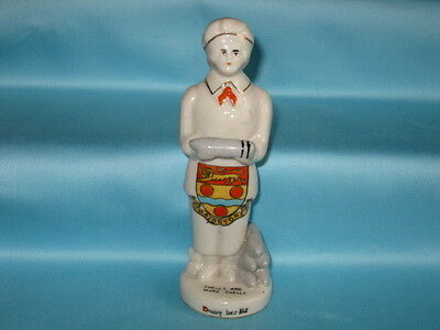 Carlton China WW1 Munitions Worker 'Doing Her Bit' - MAIDSTONE crest
