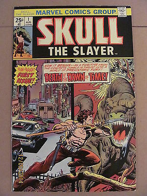 Skull The Slayer #1 Marvel Comics Bronze Age 1975 Gil Kane Origin & 1st app.