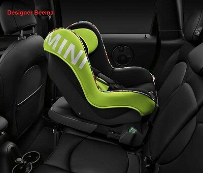 Genuine BMW MINI 1 Vivid Green Baby-Child Car Seat