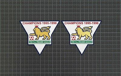 Premier League Gold Champions Patches/Badges 1995-1996 Manchester United