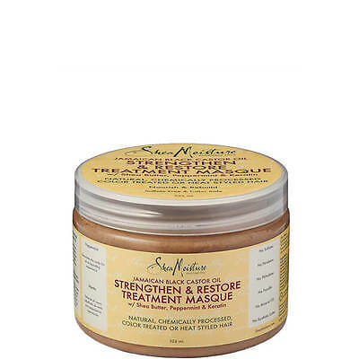 Shea Moisture Jamaican Black Castor Oil Strengthen Masque 326ml