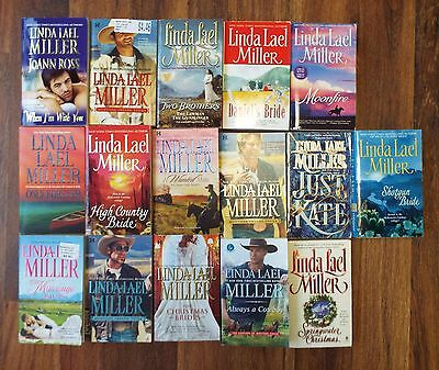 Lot of 16 Linda Lael Miller Paperback books - Romance