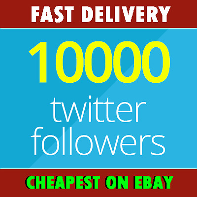 INSTANT 10K - 10,000+ Real HQ-Twitter-Followers No Eggs | CHEAPEST SERVICE