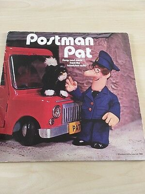 """Postman Pat-songs And Music From The Television Series KEN BARRIE 1982 12""""LP"""