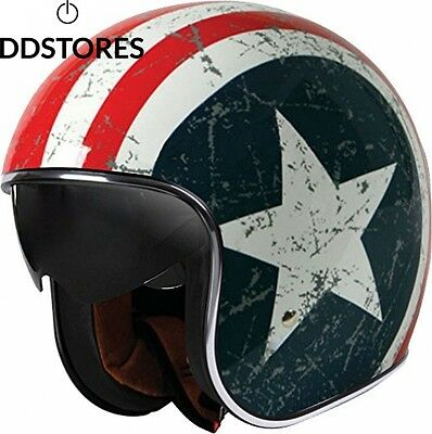 Origine Helmets Sprint Casque Moto Type Jet Multicolore Star S