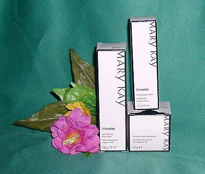 Mary Kay TimeWise Age Fighting Eye Cream / Firming Eye Cream / Indulge eye gel