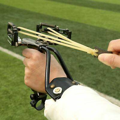 Durable Outdoor Hunter Slingshot  Sniper Catapult with Top Natural Rubber Latex