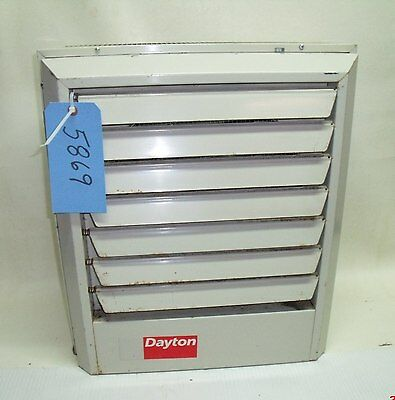 DAYTON ELECTRIC UNIT Heater - # 3UF83 - 1 or 3 phase - volts 208/240 on