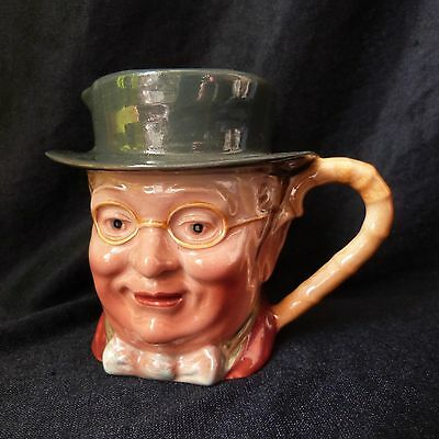 VINTAGE COLLECTABLE PICKWICK BESWICK No 1.119 CHARACTER TOBY JUG MUG