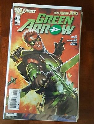 Green Arrow 0 - 52 + Annual 1  Complete Series DC New 52