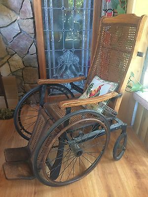 Antique Wheelchair - Gendron Wheel Company - Toledo Ohio