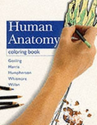 The Anatomy Coloring Book 3rd Edition Coloring  drawing by