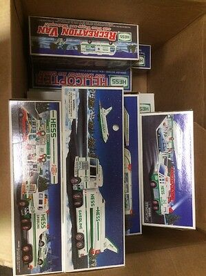 Hess Trucks!  Lot Of 16, 1990 - 2005