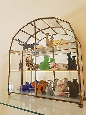 Franklin Mint - Curio Cabinet Cats Collection from 1986 (now retired)