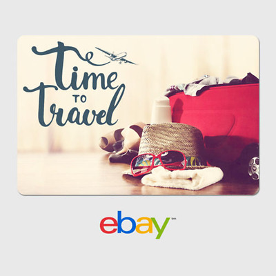 eBay Digital Gift Card - Traveler Time to Travel - Email Delivery