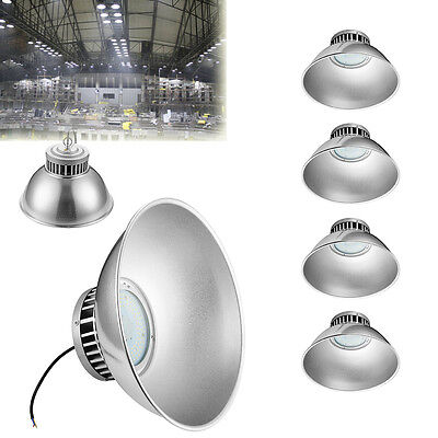 4x 70W LED High Bay Light Lamp Fixture Factory Warehouse Industry Shed Light