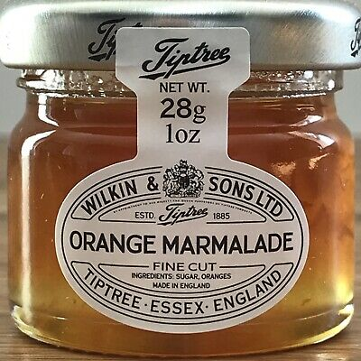 22 X 28g Mini Tiptree Orange Marmalade, Ideal For Weddings Favours ,B&B,s