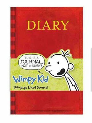 Diary of a Wimpy Kid Book Journal by Jeff Kinney 9780735329874
