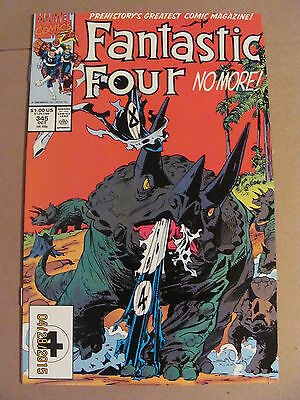 Fantastic Four #345 Marvel Comics 1961 Series 9.2 Near Mint-