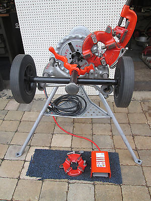 RIDGID 300 PIPE THREADER MACHINE two 811 head New Transporter etc exc