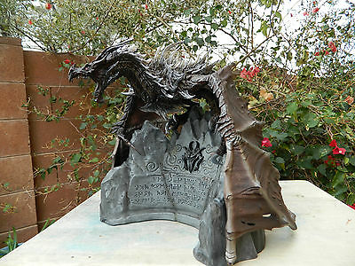 Alduin Dragon Statue. Skyrim Collectors Edition, Gargantuan scale D&D RPG