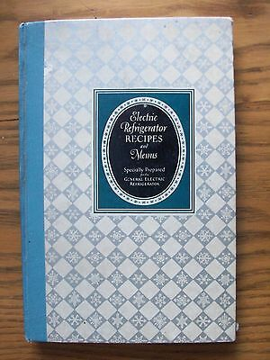 General Electric Refrigerator ~ 1928 Vintage Advertising Cookbook ~ Illustrated