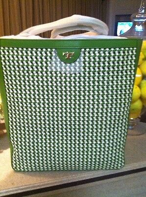 ba2ebd11f43 Nwt Tory Burch In Plastic Sold Out Erica Hobo Shoulder Bag Green  Ivory    550