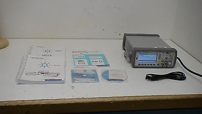 Agilent  53230A 350 MHz, 12 digit/sec, 20ps Frequency Counter w/ op 10