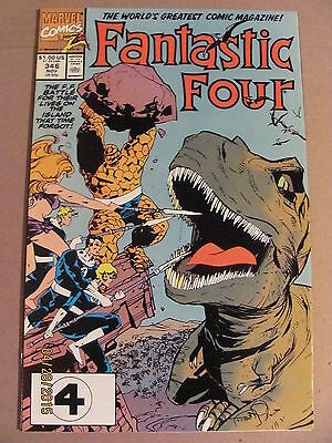 Fantastic Four #346 Marvel Comics 1961 Series 9.2 Near Mint-