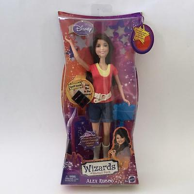 Wizards of Waverly Place Alex Russo Doll Selena Gomez Black Spell Book